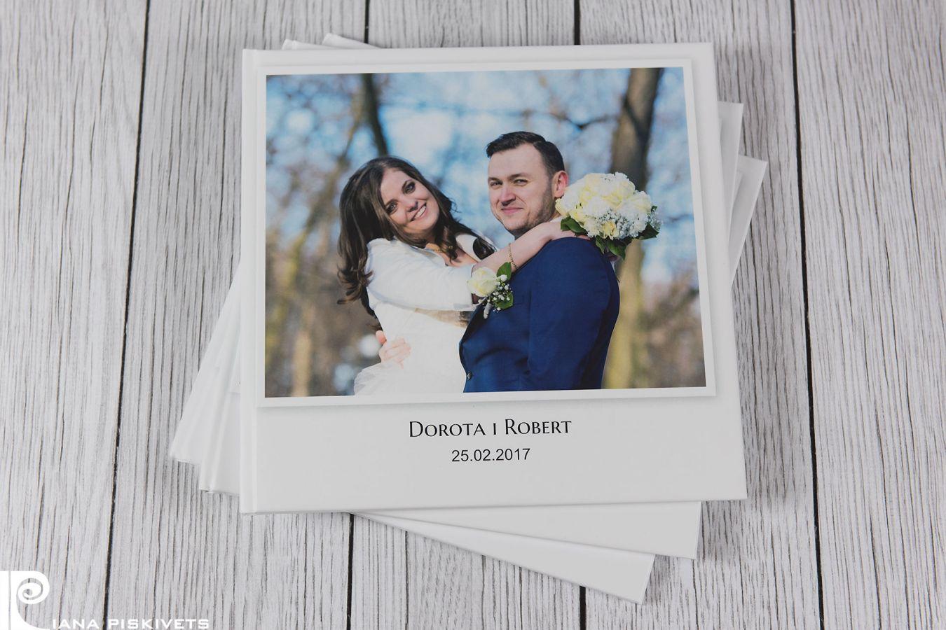Fotoksiążka ślubna dla Doroty i Roberta