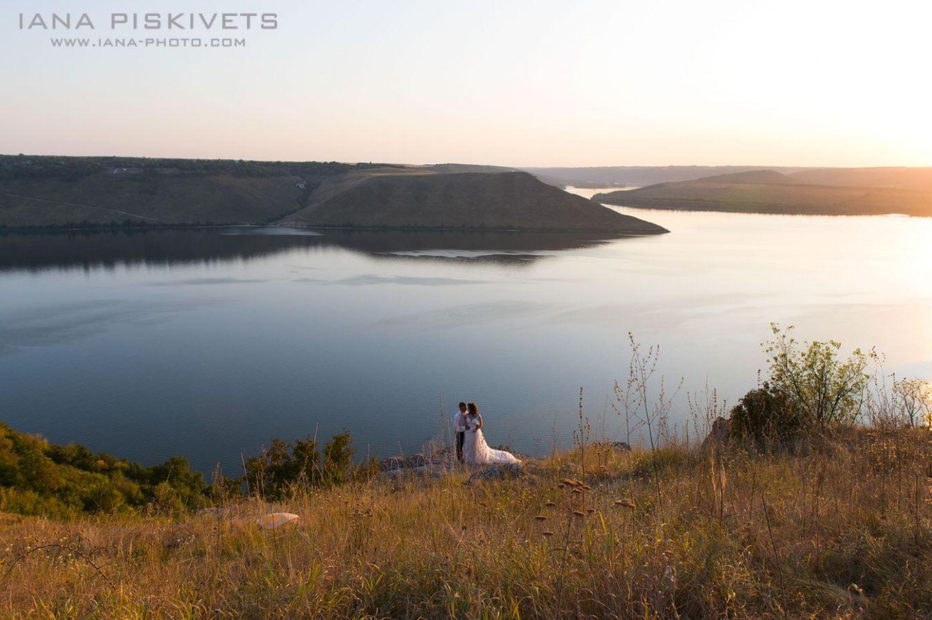 Plener ślubny nad Dniestrem