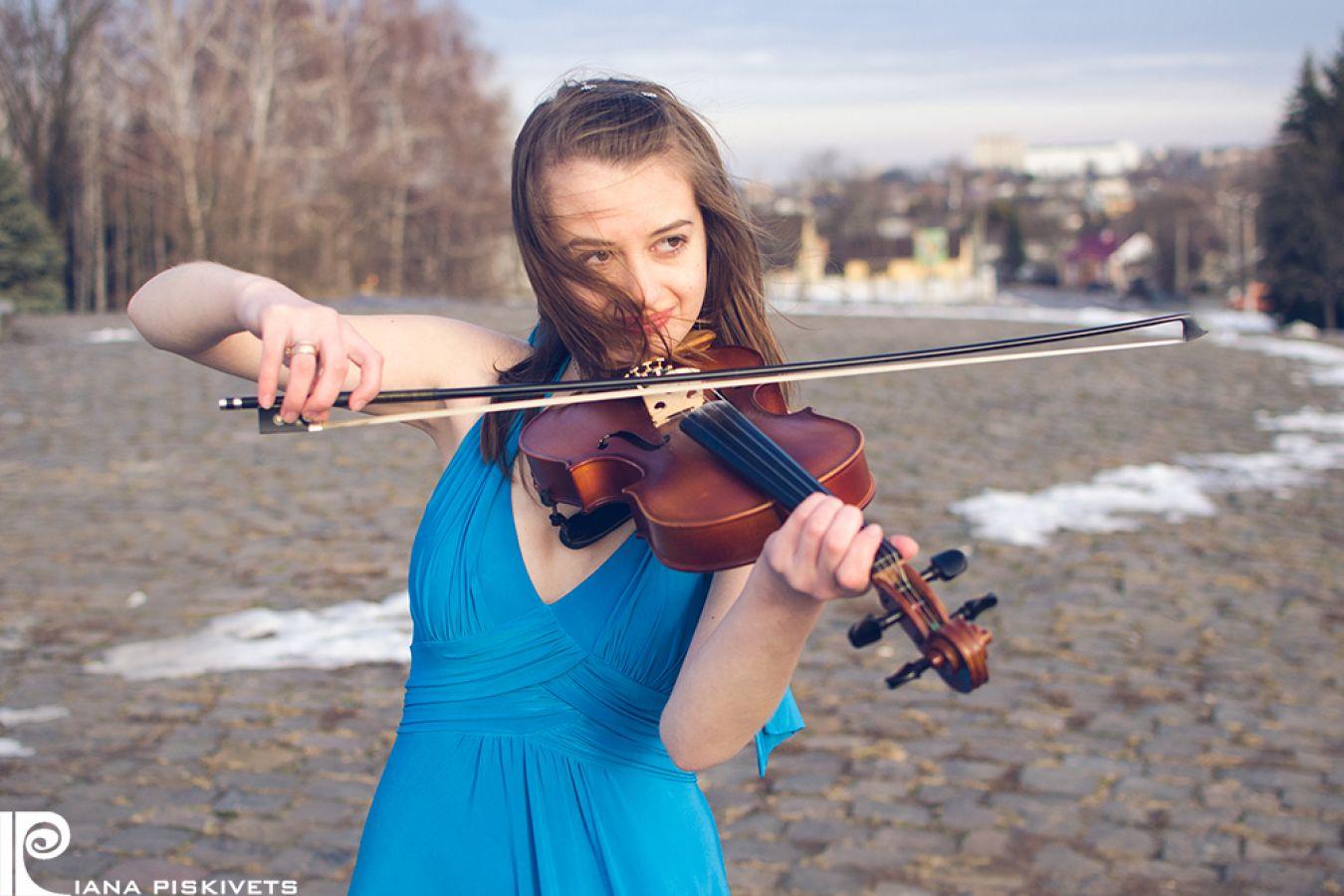 Olga - Dziewczyna ze skrzypcami