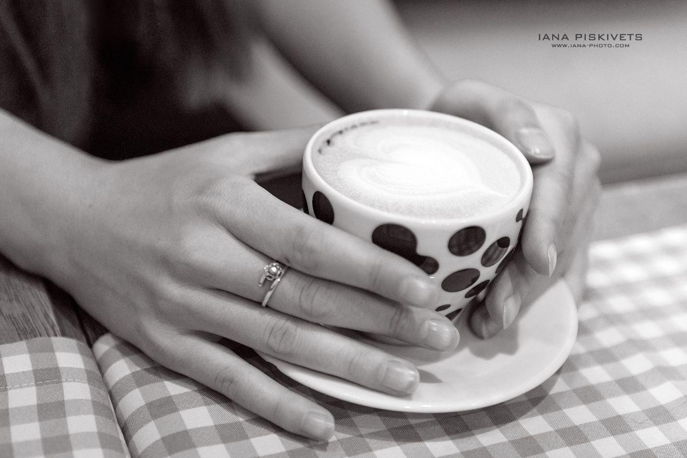Sesja zdjęciowa w kawiarni Croque Madame