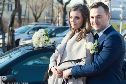 Photographer in Warsaw. Beautiful Women. Marriage, happy groom, bride bouquet, wedding photo shoot, marriage registration USC Pruszkow, romantic photo session. Professional photographer in Warsaw, wedding Poland.