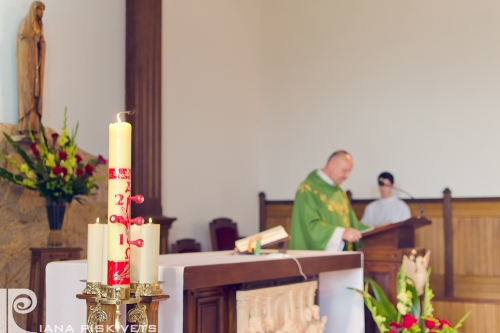 Christening baby - Piaseczno, Warsaw, Poland - photographer for the baptism