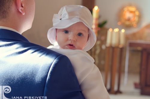 Photo Baptism Piaseczno Warsaw Poland - Photographer at a christening