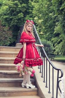 Photoshoot retro Lolita - Lolita doll